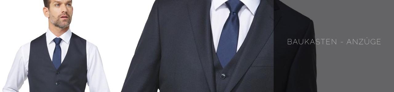 Baukasten-Anzüge