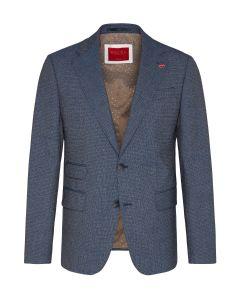 Vintage-Anzug,blue/brown