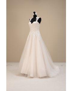 Brautkleid,ivory/blush - Gana