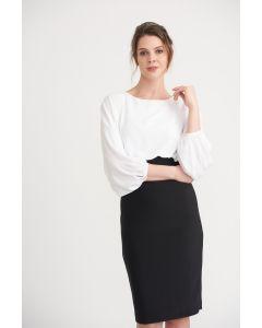 Kleid,black/white