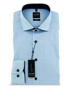 Hemd,body fit,light blue/navy