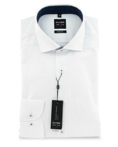 Hemd,body fit,white/white