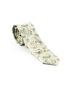 Krawatte,beige/green/taupe