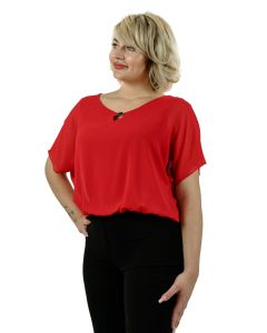 Bluse, red