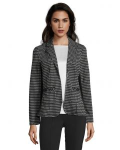 Blazer, black/grey