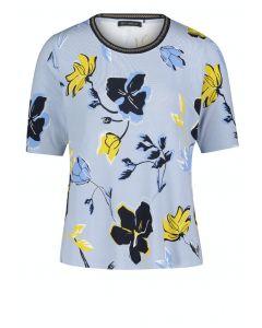 Shirt,light blue/cream