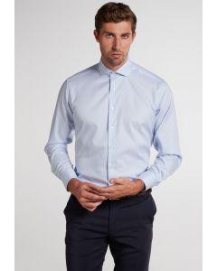 Hemd,modern fit,blue light/white