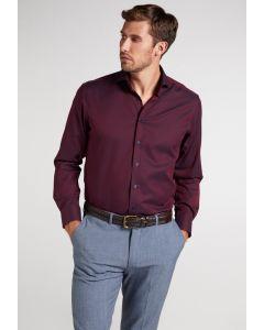 Hemd,modern fit,bordeaux/navy