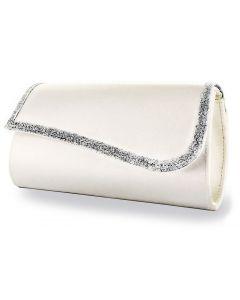 Tasche, ivory/silver