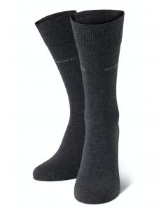 Socken, 2er Pack, anthrazit