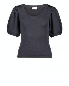 Strickshirt,dark blue/glitter
