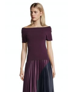Shirt, dark aubergine