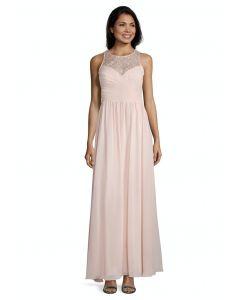 Abendkleid, pale rose