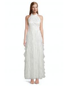 Abendkleid mit Volants,ivory white